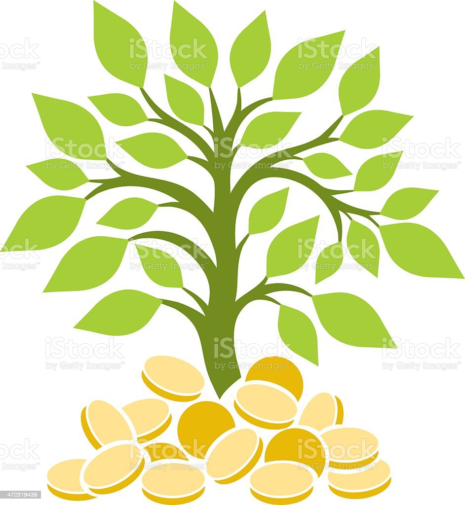 royalty free money tree clip art vector images