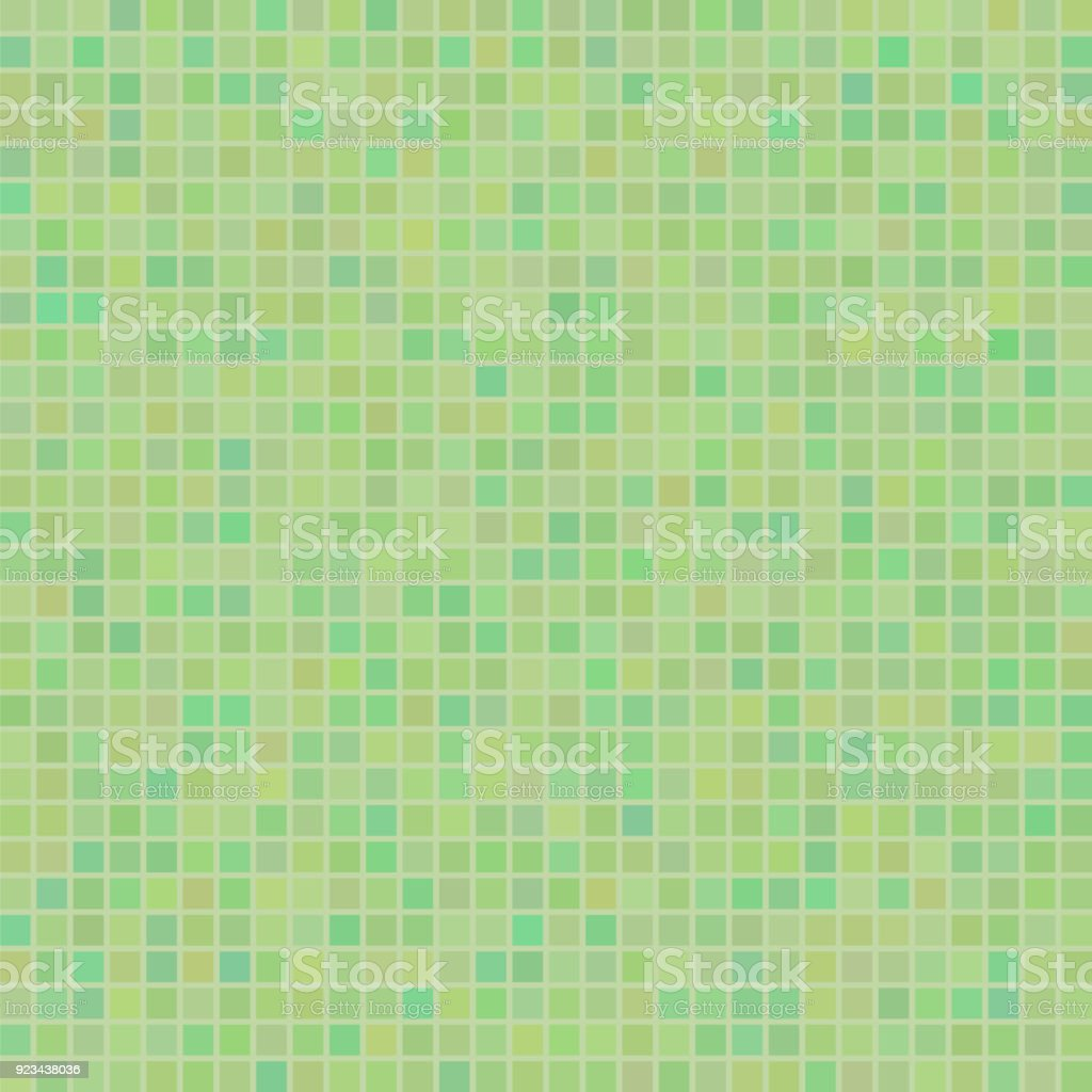 grn mosaik muster quadratische keramik hintergrund lizenzfreies grn mosaik muster quadratische keramik hintergrund stock vektor - Mosaik Muster
