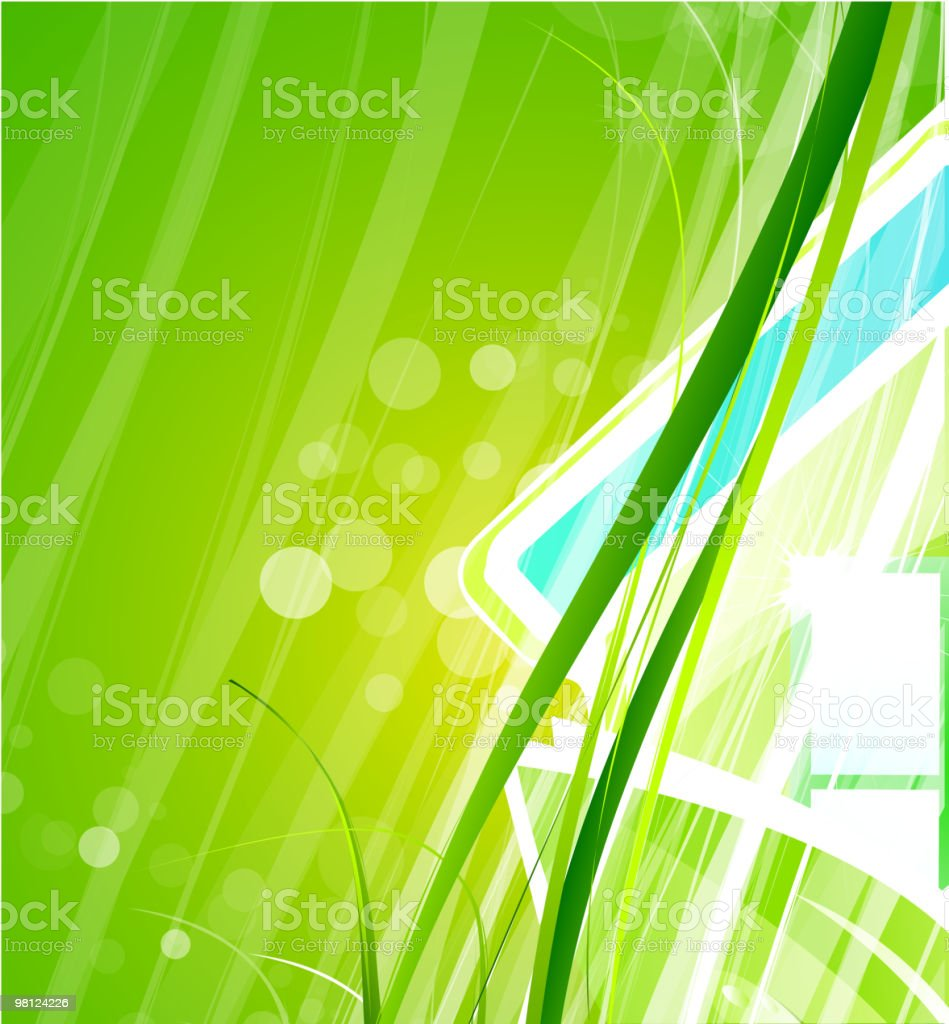 Green nature background royalty-free green nature background stock vector art & more images of abstract