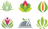 Green nature creative symbol is simple, usable and professional vector graphic. Symbolizing nearly one part of human environment, Mother Earth, it shines in its beauty. It is for all those who love breathing fresh air and living in healthy and green environment. And so it is perfect for every eco friendly person, small or big business company and corporation that are promoting new, modern and practical way of life- living in green harmony with nature. It is colorful and great for decorations / ornament( book, page, invitations, paper, wall, business card..) symbolizing strength, unity and willingness to support and help.