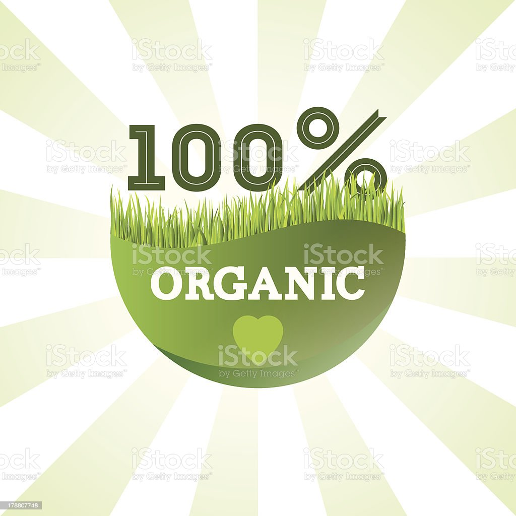green organic label royalty-free green organic label stock vector art & more images of backgrounds