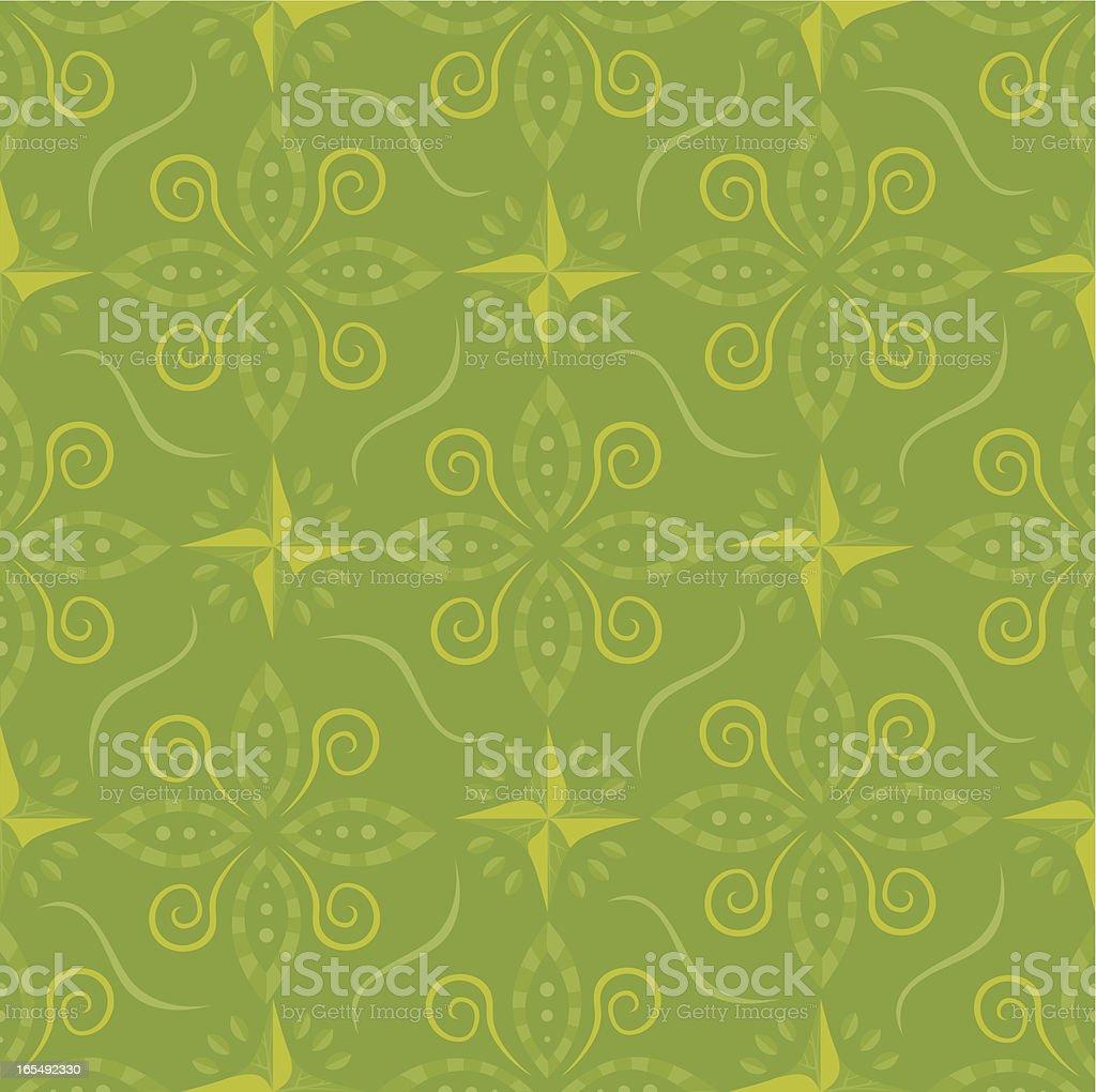 Green pattern. royalty-free stock vector art