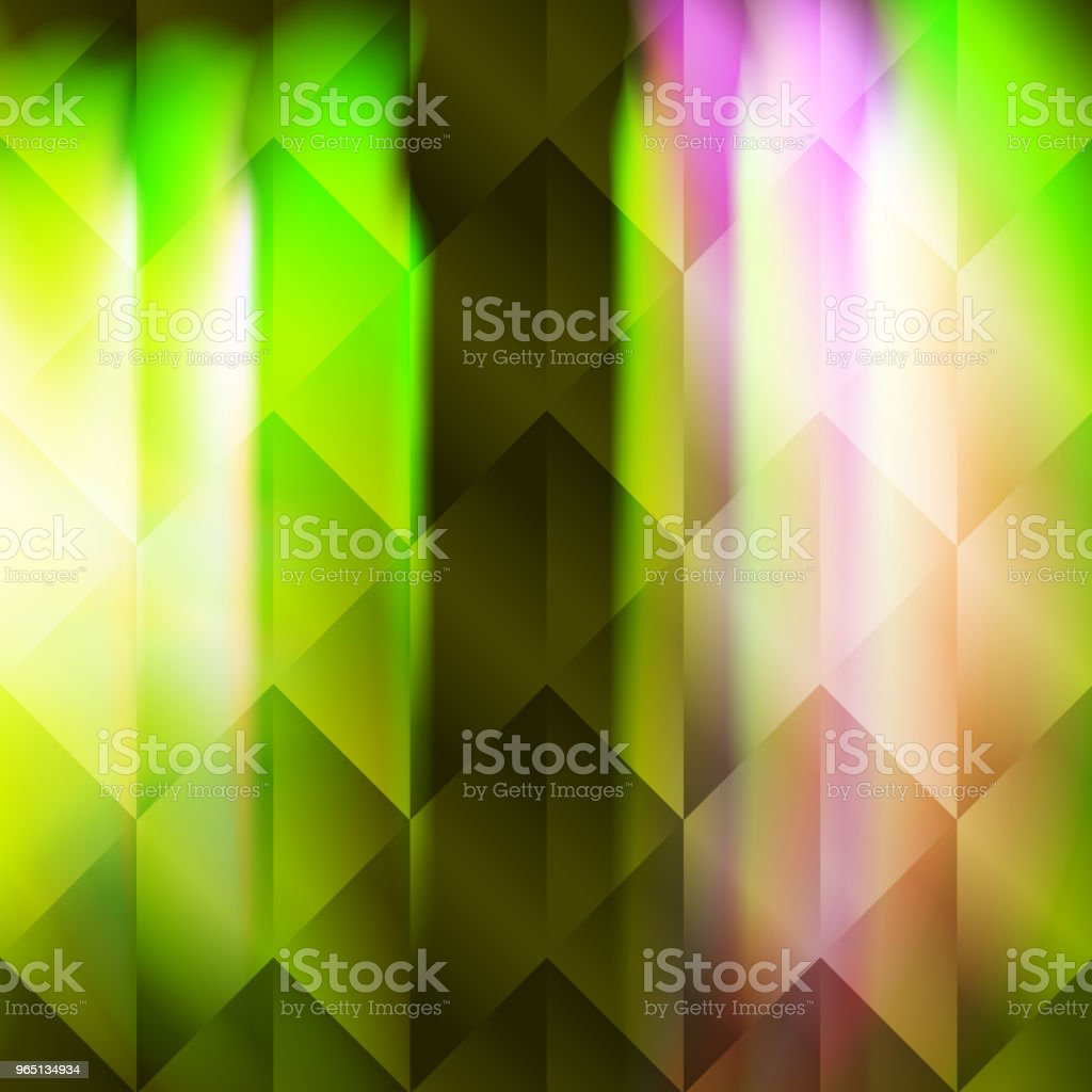 Green polygonal illustration hexagonal elements royalty-free green polygonal illustration hexagonal elements stock vector art & more images of abstract