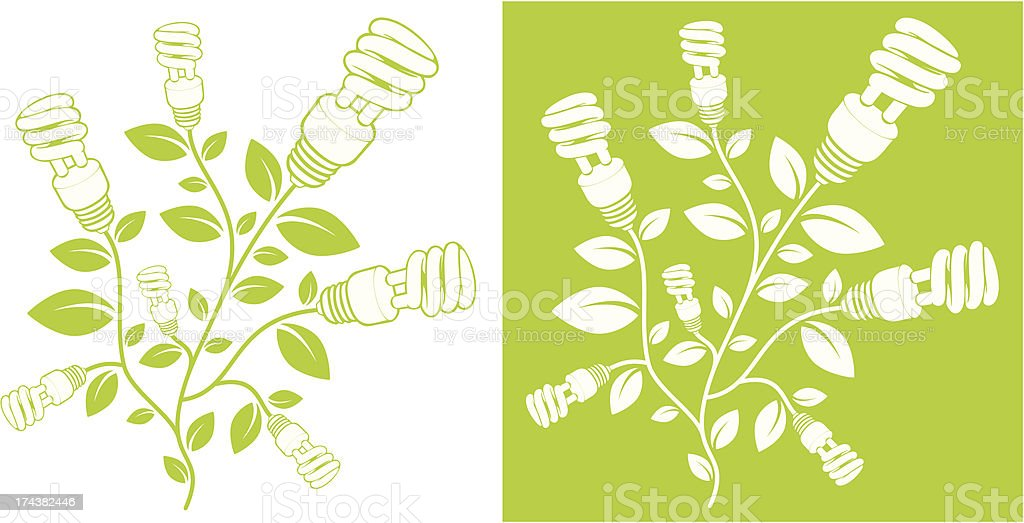 Green power branch royalty-free green power branch stock vector art & more images of alternative energy