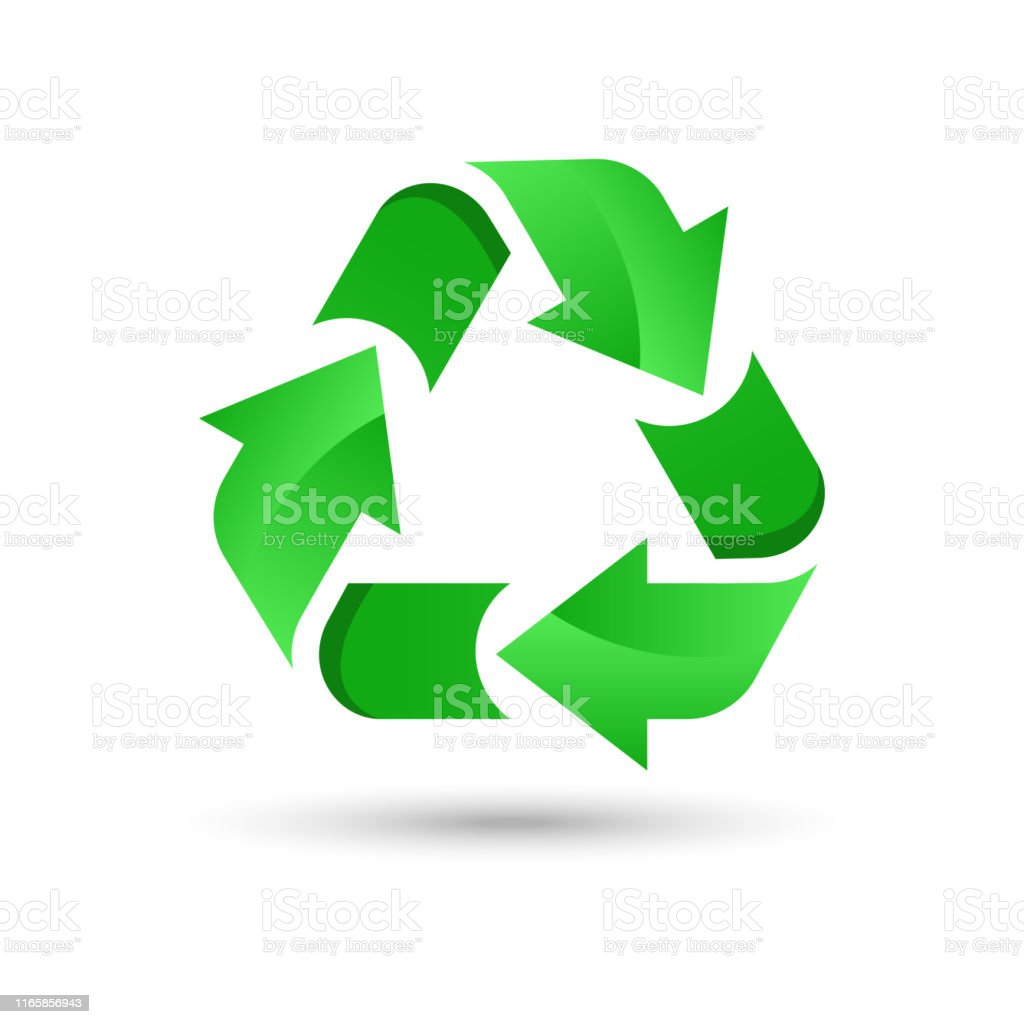 Green Recycling Logo Stock Illustration Download Image Now Istock