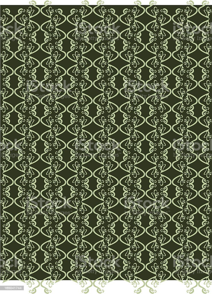 green retro wallpaper royalty-free green retro wallpaper stock vector art & more images of backgrounds
