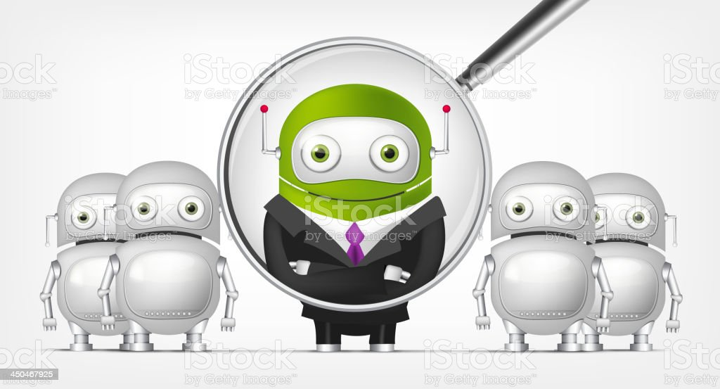 Green Robot royalty-free green robot stock vector art & more images of achievement