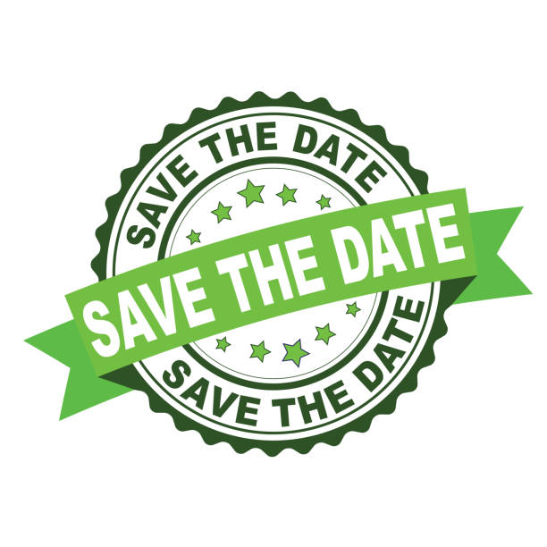 Best Save The Date Stamp Illustrations, Royalty-Free ...