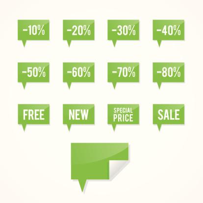 Green sales bubbles