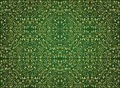 Green Seamless Pattern. EPS 10.