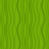 Green seamless Wavy background texture.