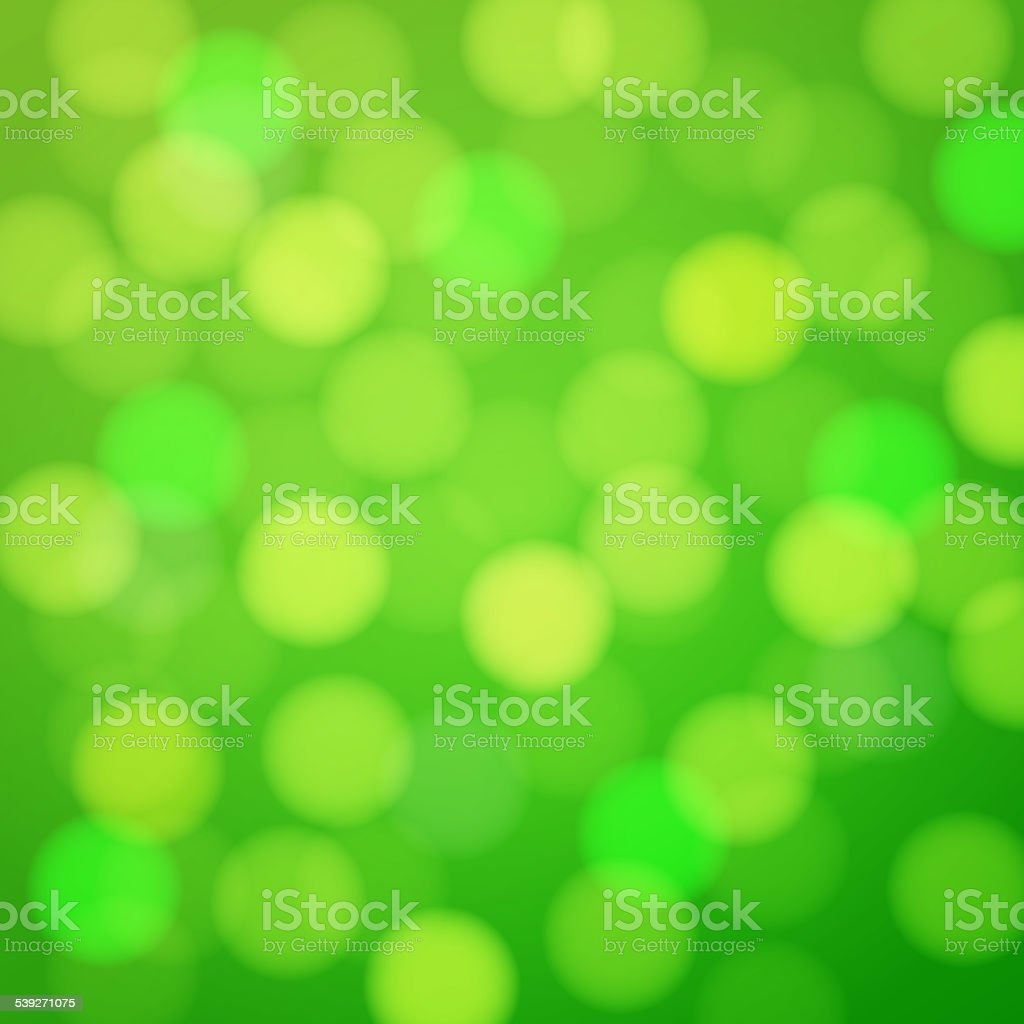 Green shiny bright background. vector art illustration