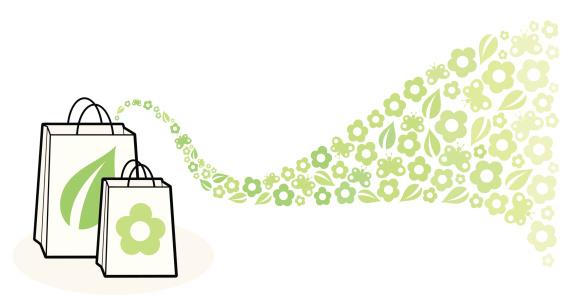 Green Shopping Bags