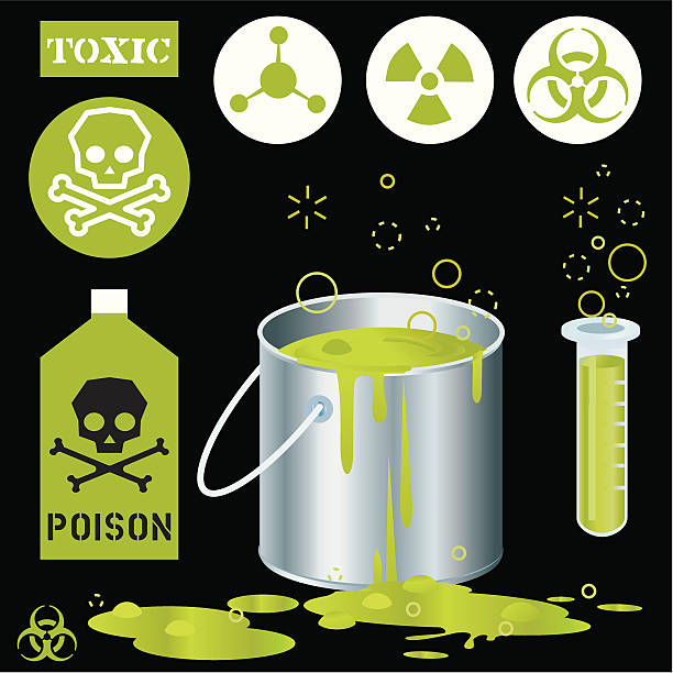 green sludge toxic - russelltatedotcom stock illustrations