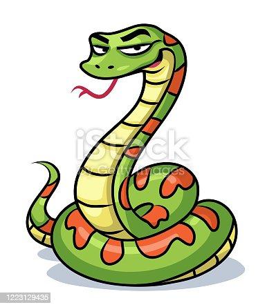 istock Green Snake 1223129435