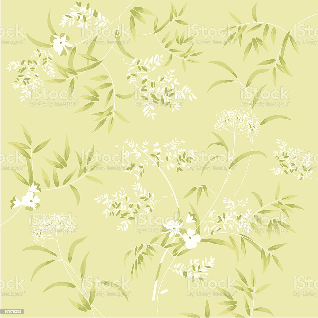 Green soft floral background royalty-free green soft floral background stock vector art & more images of abstract