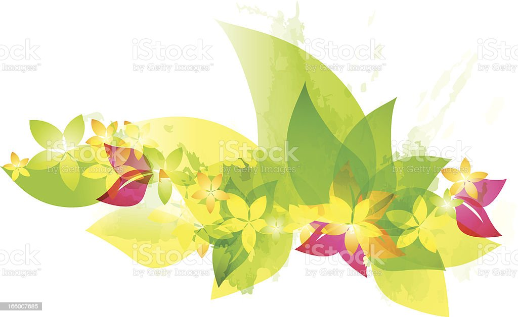 Green spring blooms royalty-free green spring blooms stock vector art & more images of abstract