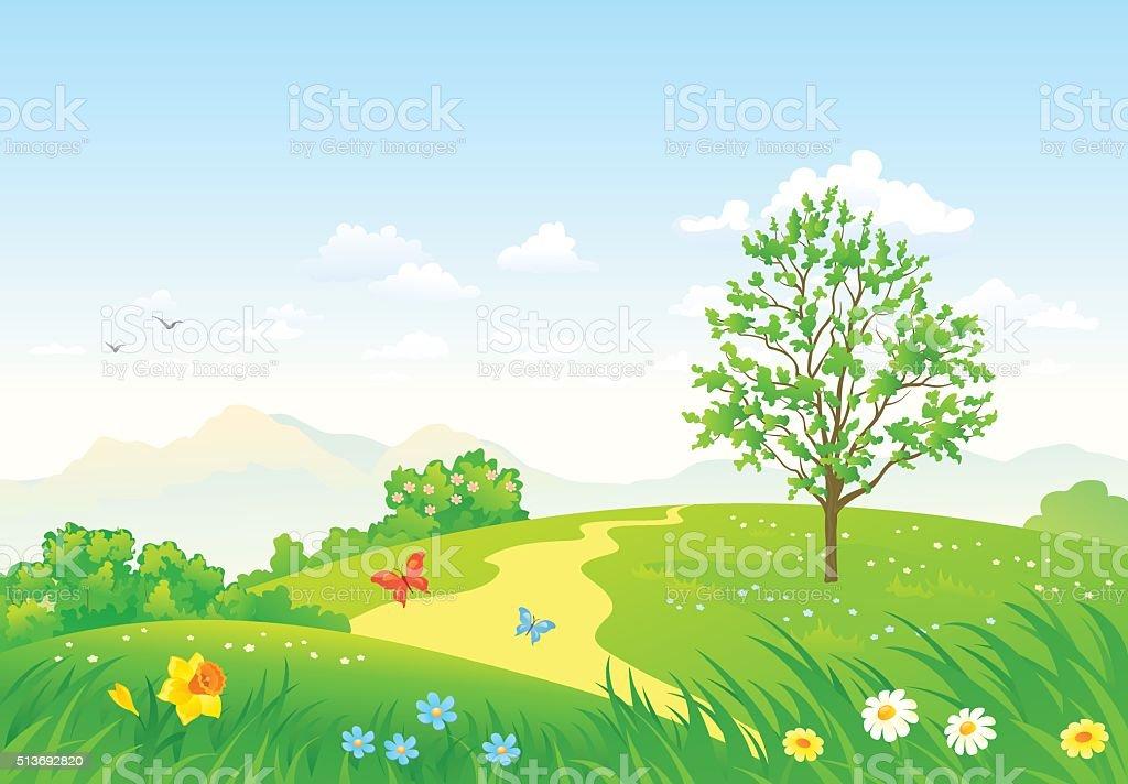 Royalty Free Garden Path Clip Art Vector Images U0026 Illustrations - IStock