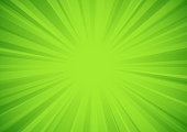 istock Green star burst background 1324933770