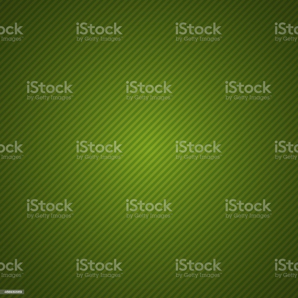 Green striped background illuminated in the middle vector art illustration