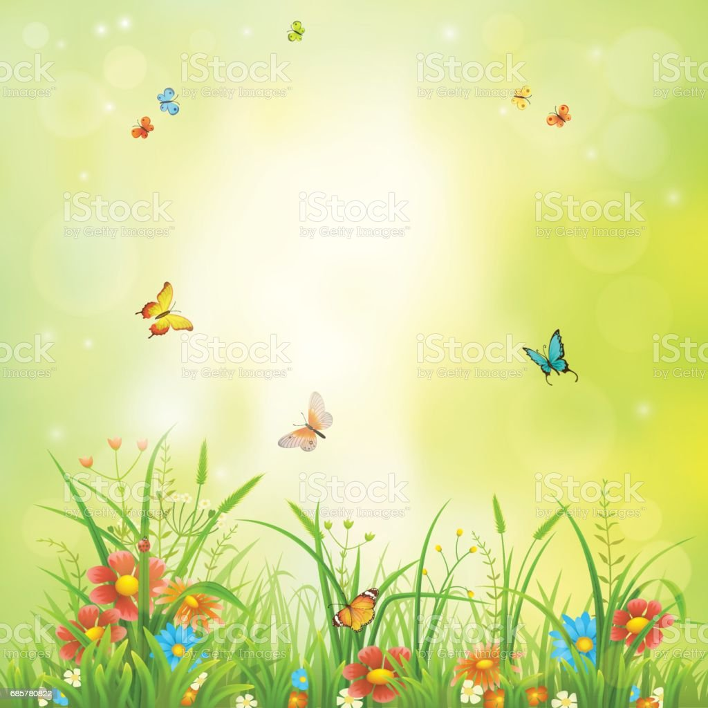 Green summer background royalty-free green summer background stock vector art & more images of abstract