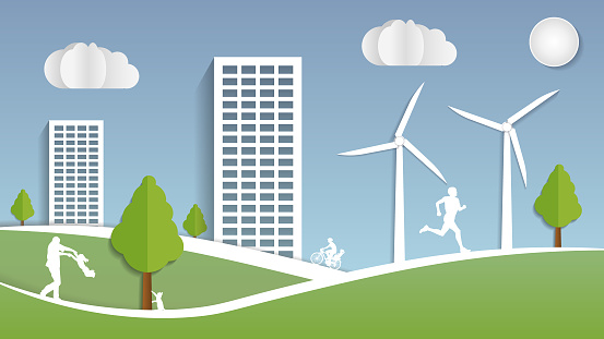 Green sustainable city