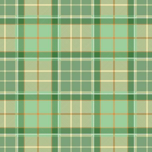green tartan plaid pattern design - stripped pattern stock illustrations, clip art, cartoons, & icons