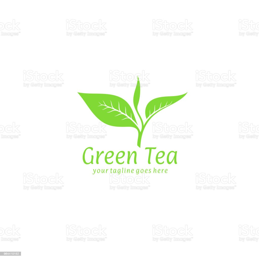 Green tea - Royalty-free Abstract stock vector