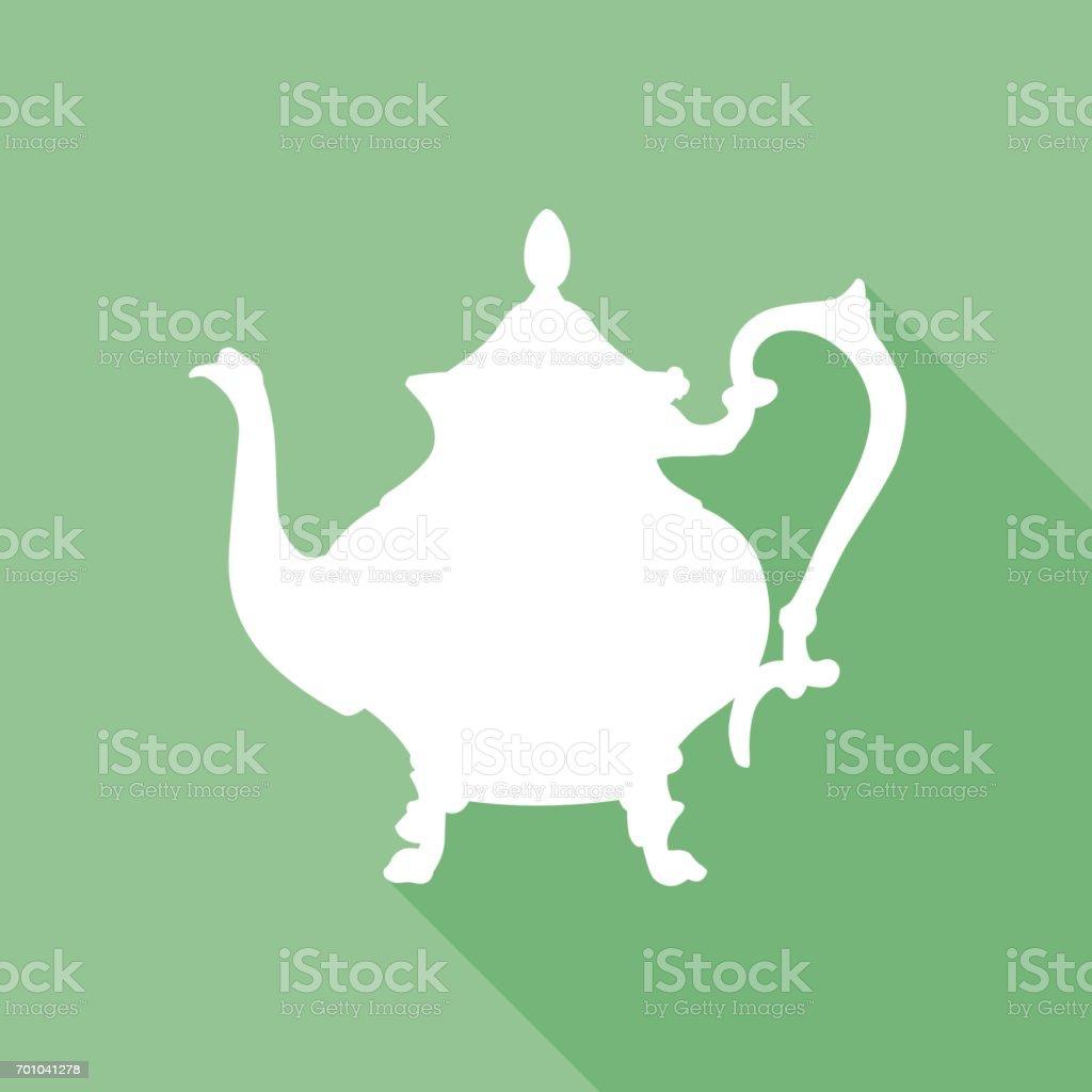 Silver Tea Set Clip Art
