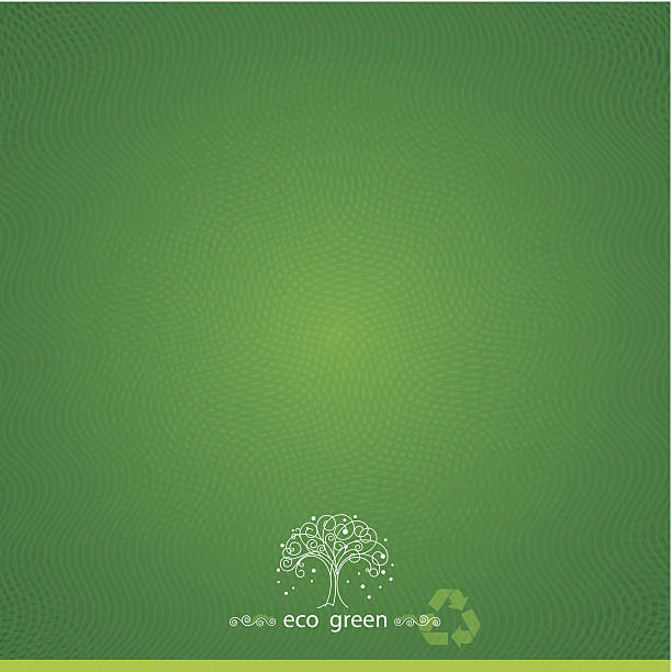 Green Textured Background vector art illustration