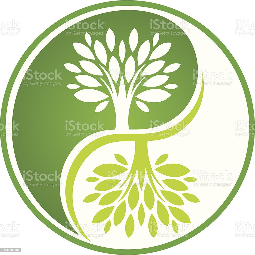 Green Tree Symbol Stock Vector Art & More Images of ...