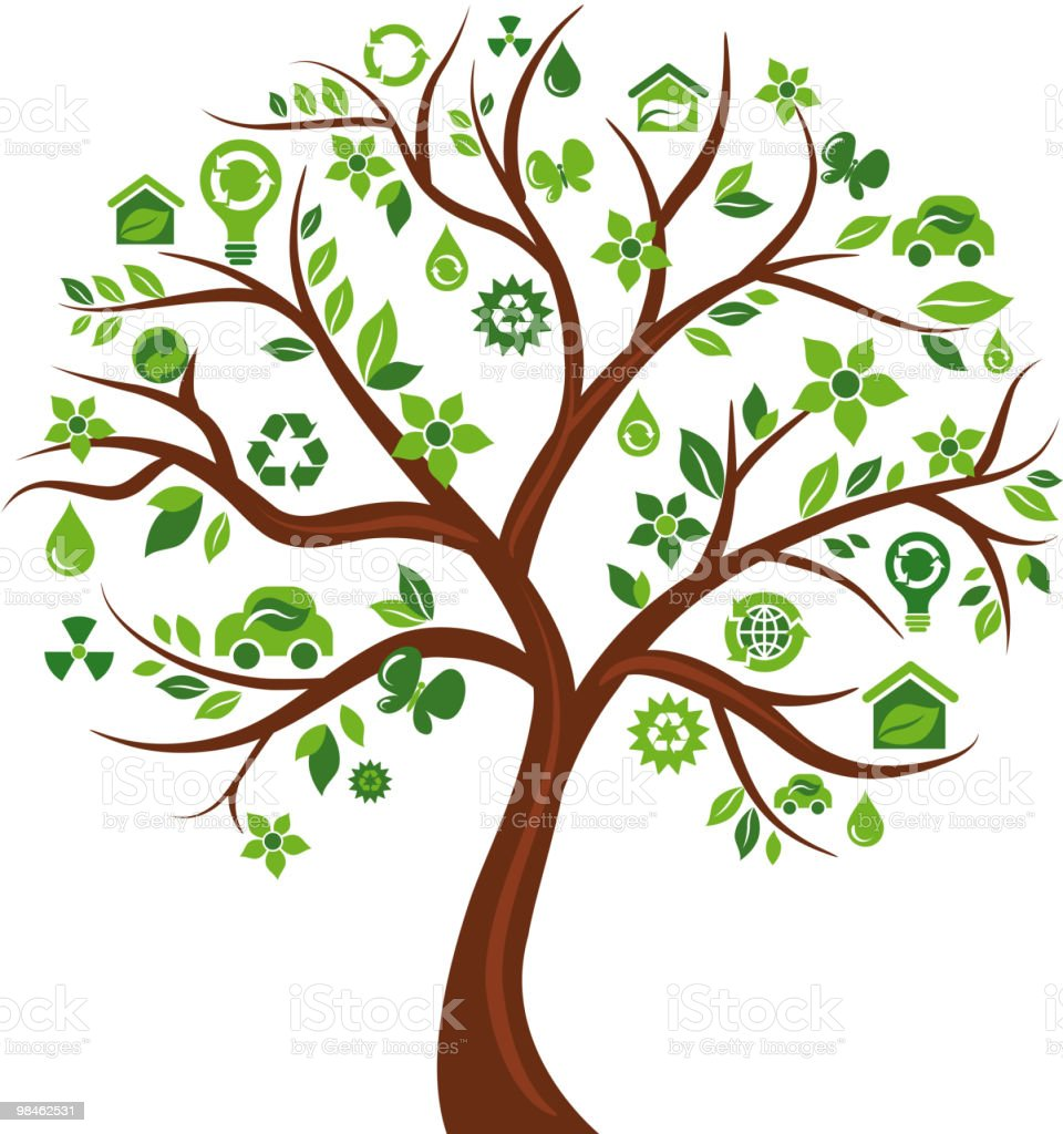 Green tree royalty-free green tree stock vector art & more images of alternative energy