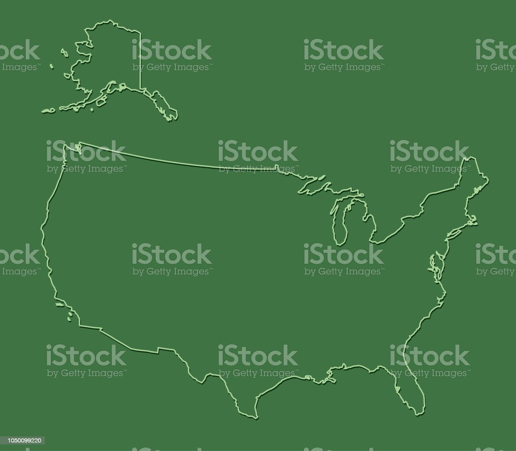 Bundesl303244nder Karte Ohne Namen.Usa Karte Ohne Staaten