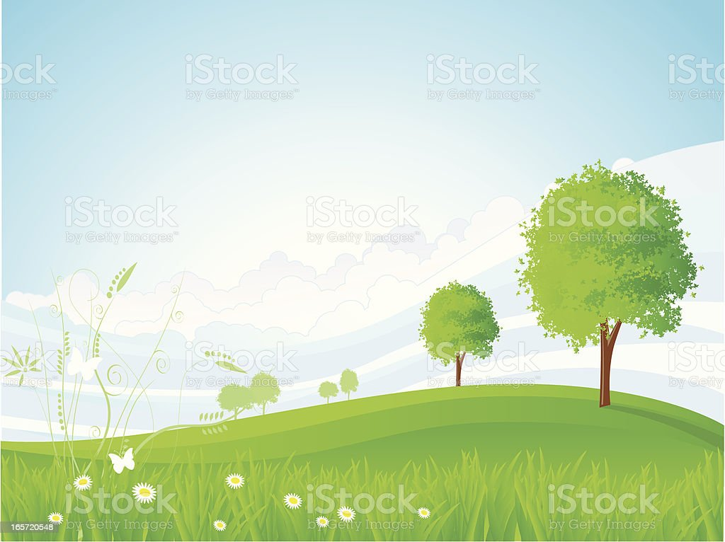green valley royalty-free green valley stock vector art & more images of beauty in nature