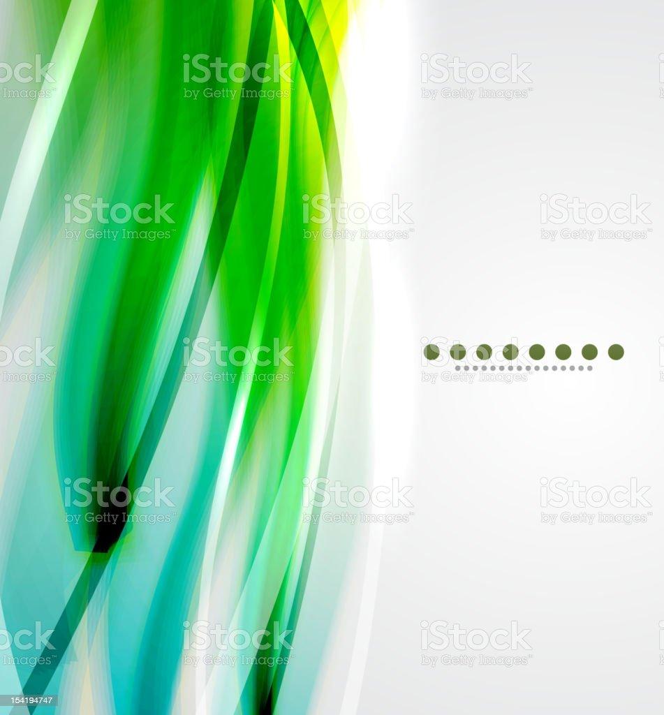Green vector background royalty-free stock vector art