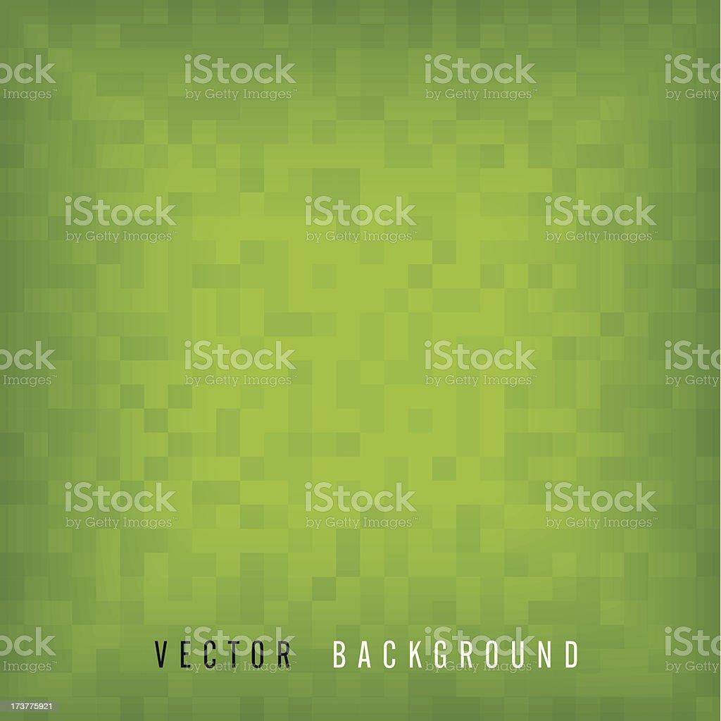Green vector mosaic background royalty-free stock vector art