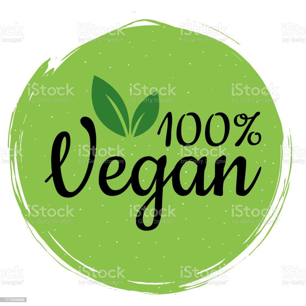 Restaurant Logo Editorial Template: Green Vegan Logo Healthy Food Sign Eco Bio Label For Cafe
