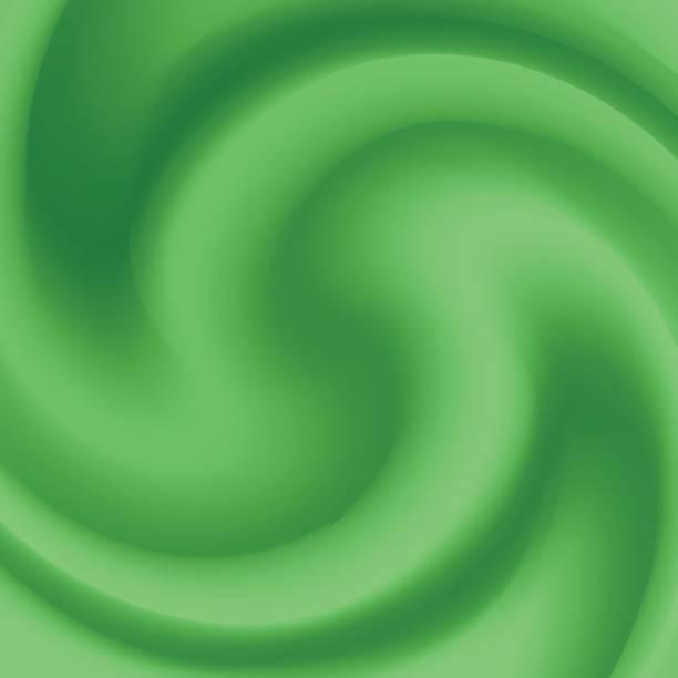 green wave background vector art illustration