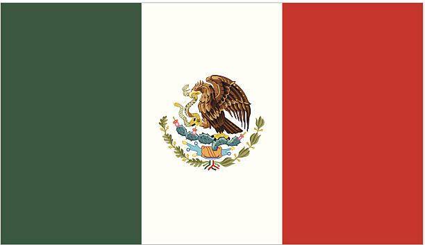 ilustraciones, imágenes clip art, dibujos animados e iconos de stock de méxico o la bandera mexicana - bandera mexicana
