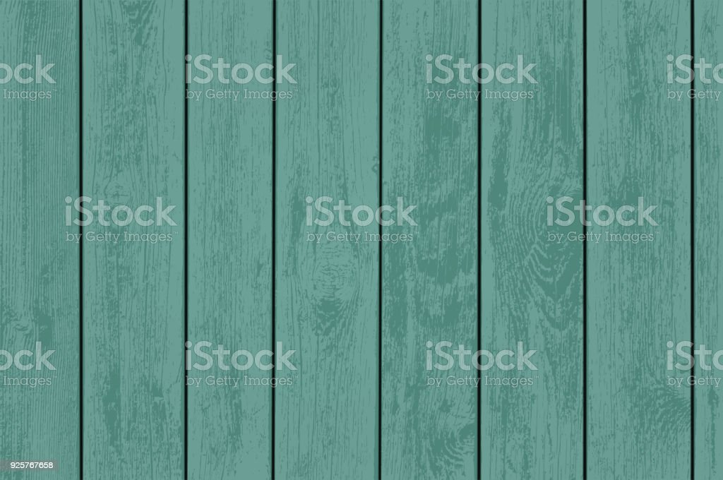 Paneles de madera verdes. - ilustración de arte vectorial