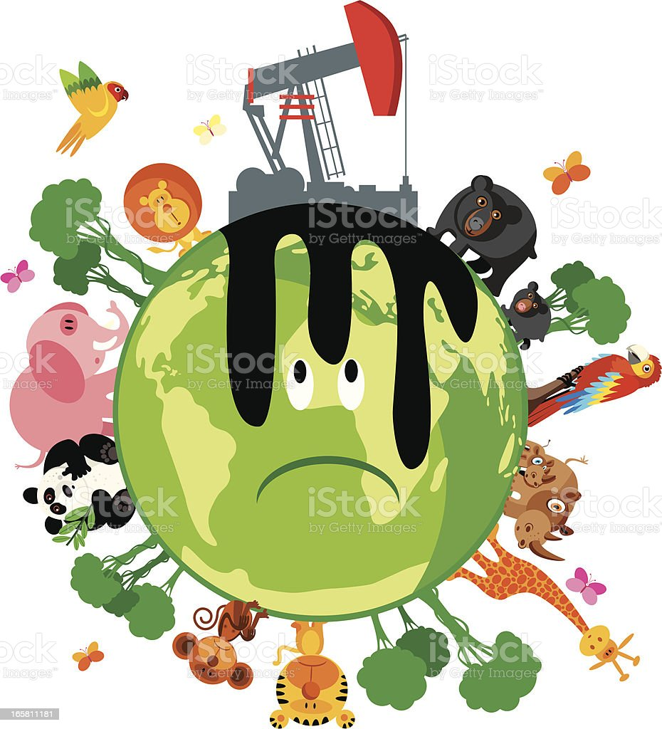 Green world and animals royalty-free green world and animals stock vector art & more images of animal