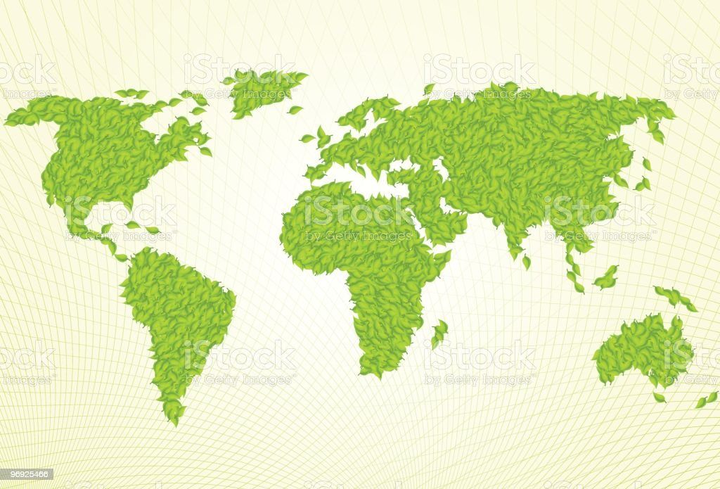 Green World Map royalty-free green world map stock vector art & more images of color image