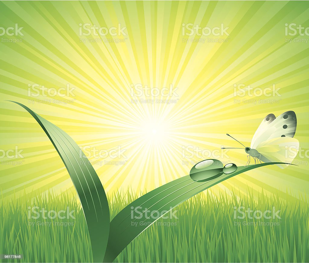 Green World royalty-free green world stock vector art & more images of backgrounds