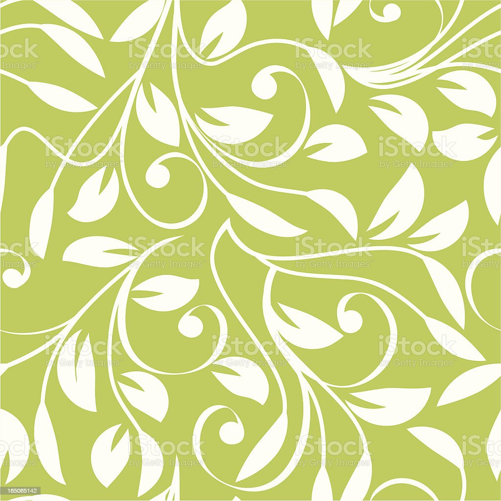 Green world-leafy pattern royalty-free stock vector art