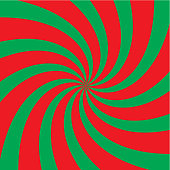 Green-red radial background