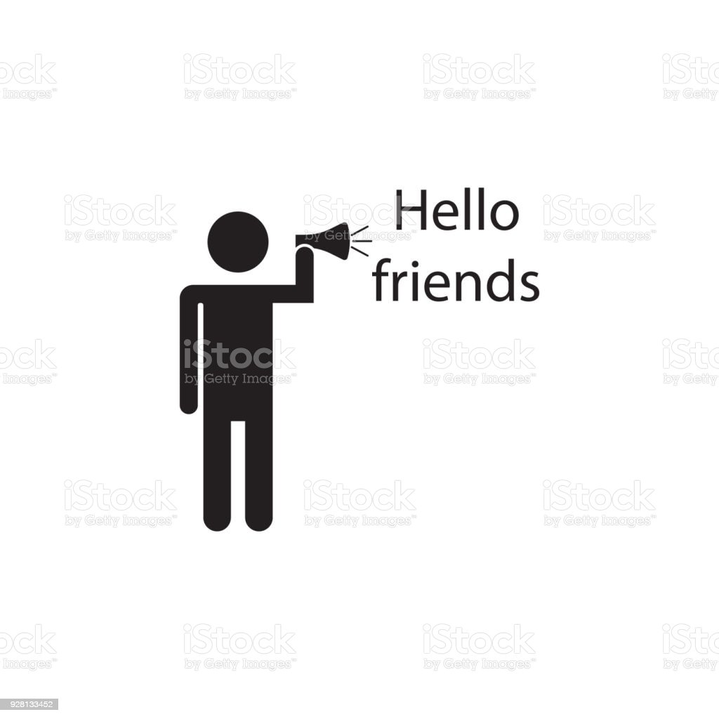 Greet friends icon detailed icon of friendship and relationships greet friends icon detailed icon of friendship and relationships icon premium quality graphic design biocorpaavc Images