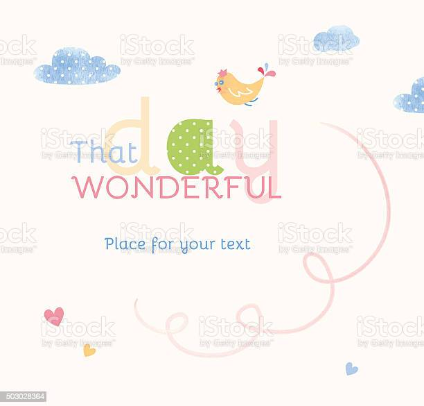 Greeting banner with bird and clouds and space for text vector id503028364?b=1&k=6&m=503028364&s=612x612&h=78mj2dyh1ry9ys4abwijt82rdapb9wqncbwj sihn a=