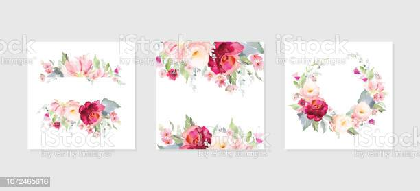 Greeting card and background with bouquets of flowersa set of vector vector id1072465616?b=1&k=6&m=1072465616&s=612x612&h=5d924s4k847in0f 5qgylzk1wnrjiwonhvel0qqmblw=