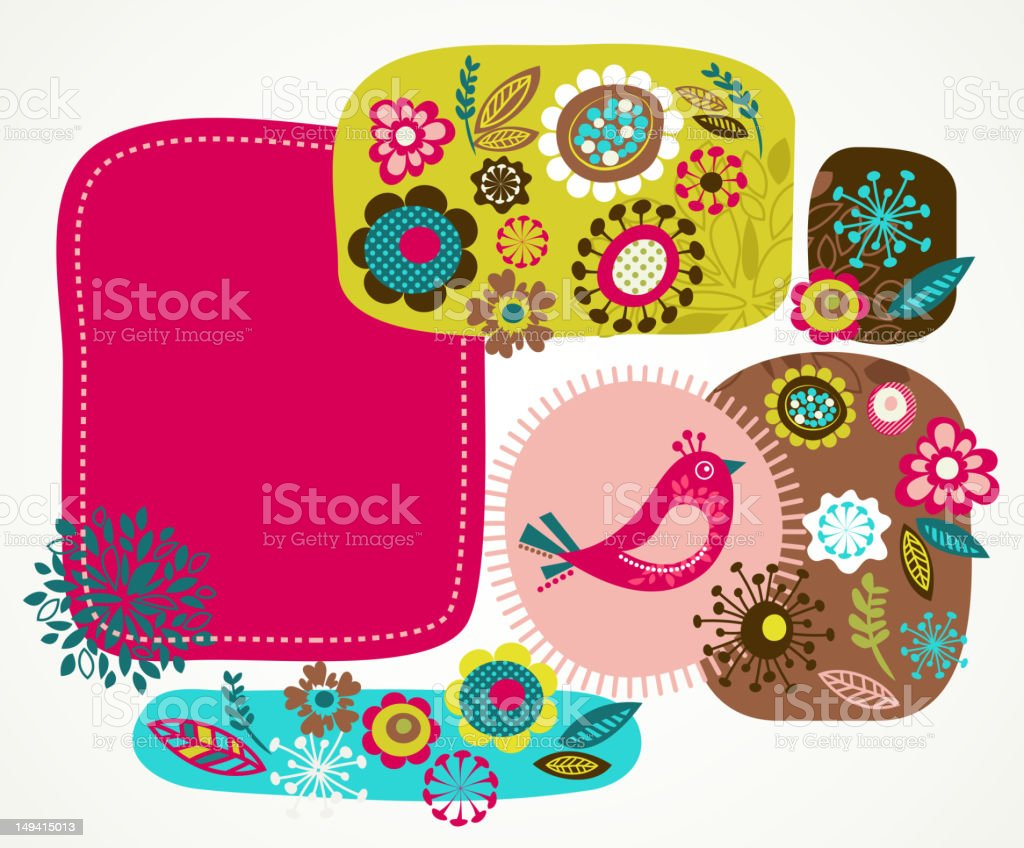 Greeting card background royalty-free stock vector art