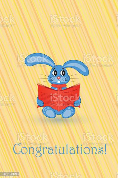 Greeting card blue rabbit with a red book vector id901198686?b=1&k=6&m=901198686&s=612x612&h=lvj5ebriex0ftuc3pedzv31 rpipdwh6flcllclholm=
